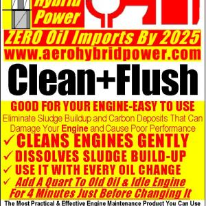 Aero Hybrid Power Engine Clean + Flush