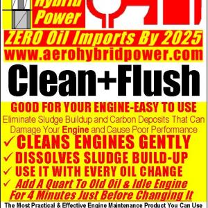 Engine Clean+Flush Is Good For Your Engine